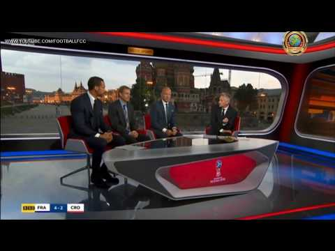 France 4 Croatia 2 Full Post match Analysis & discussion 2018 World Cup final   YouTube