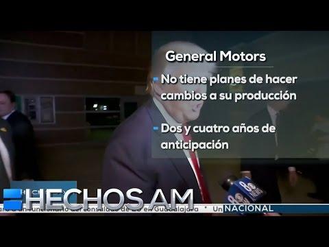 General Motors no cambiará su producción, pese a críticas de Trump   Finanzas