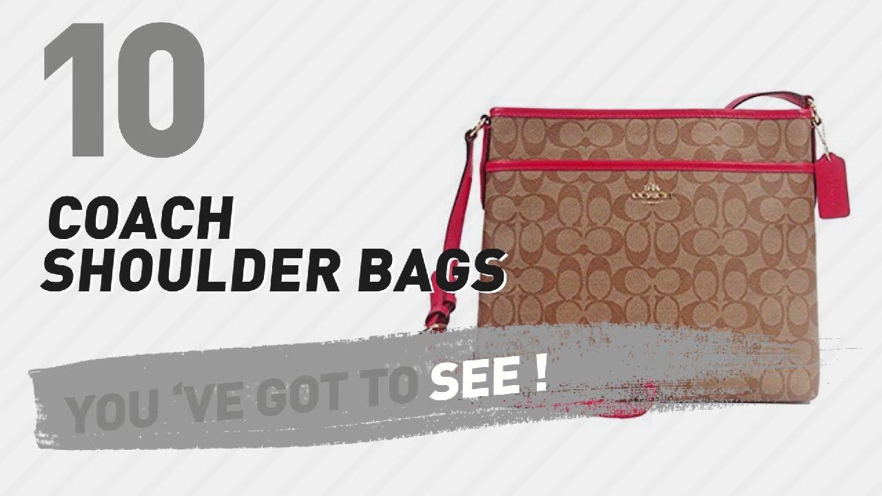 b8f3cda262 Coach Shoulder Bags    New   Popular 2017 - YouTube