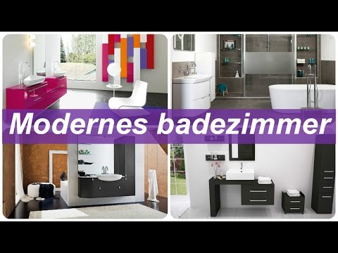 Modernes badezimmer - YouTube