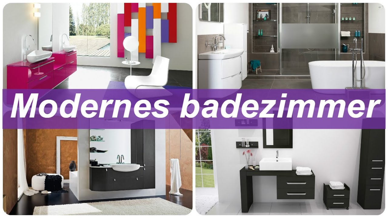Modernes Badezimmer   YouTube