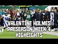 Valentine Holmes Preseason Week 4 Full Highlights! Every Valentine Holmes Play Preseason Week 4!