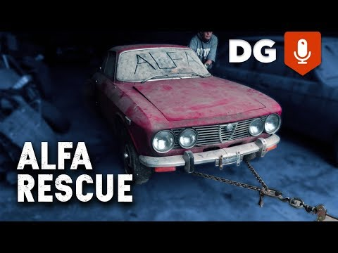 Alfa Rescue Specialists in a Bomb Shelter Full Of Movie Cars