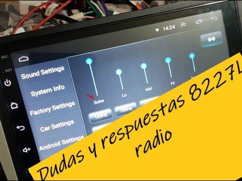 Preguntas y respuestas radio china AC8227L demo PARTE 1
