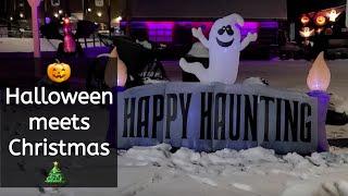 Halloween Town meets Christmas and a Bark Box for Kips Birthday!