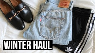 Winter Try On Clothing Haul! | Asos, Levis, Adidas & More!