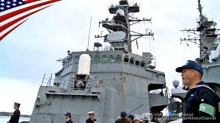 海上自衛隊・練習艦隊のアラスカ訪問 - 練習艦かしま & 護衛艦はるさめ