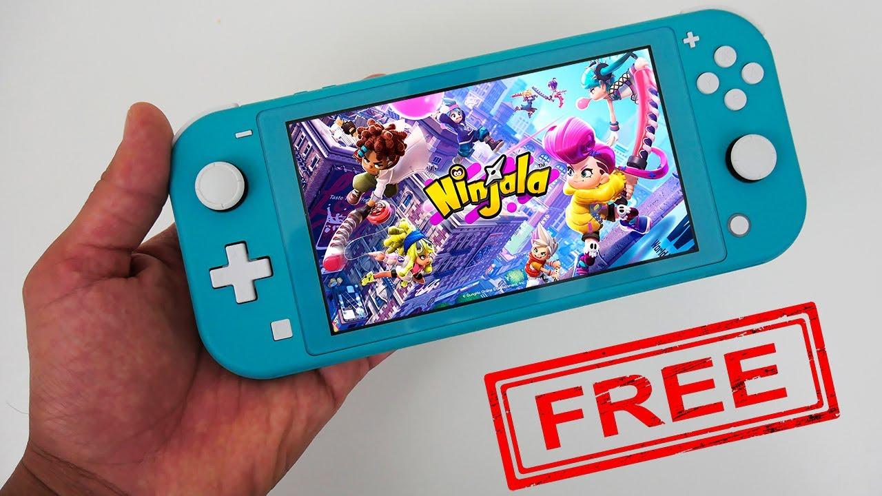 Ninjala Nintendo Switch Lite Gameplay - FREE Game