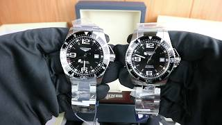 Longines Hydro Conquest 44 mm Automatic Black Dial Ref. L3.841.4.56.6 YouTube Videos