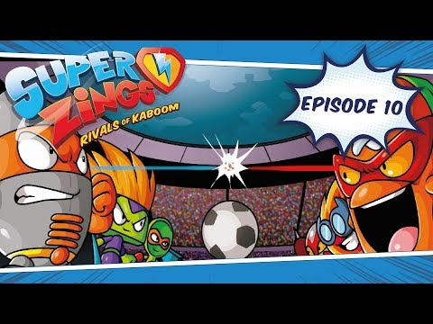 SuperZings Adventures — Episode 10 ⚽ The Football Match | Rivals Of Kaboom