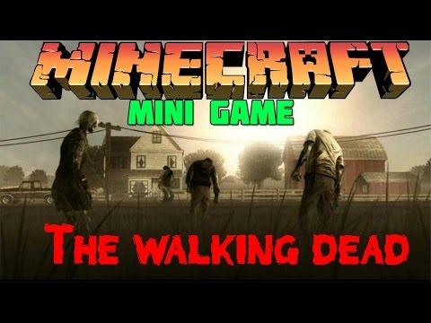 Ходячие Мертвецы в Minecraft: Мини Игры [The Walking Dead]