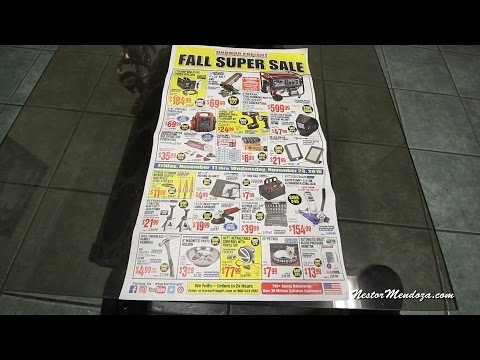 Harbor Freight Fall Sale - What you Need to Get