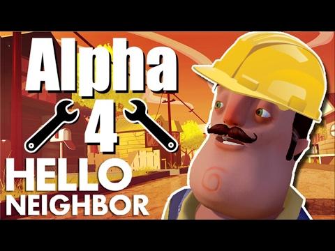 Minecraft Hello Neighbor - The Neighbors Alpha 4 House Repair (Minecraft Roleplay)