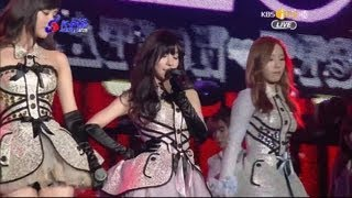 GIRLS' GENERATION-TTS_Awards + Twinkle (KBS 2nd 가온차트 KPOP AWARDS_13.02.13)