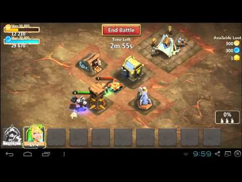 Castle Clash - Restarting