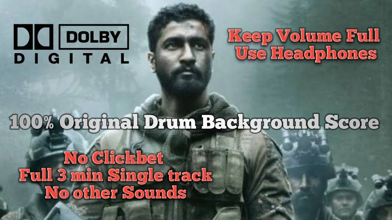 URI Full Movie Background score | Uri Drum Background music | Uri Scenes |  Uri music making