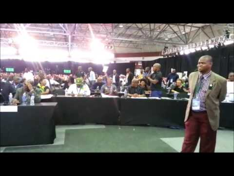 ANC Councillors disrupts State of the Capital Address