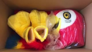 Kostüm Papagei Maskottchen Lauffigur Professionell : Kaufen : Produktion Herstellung   Maskottchen2