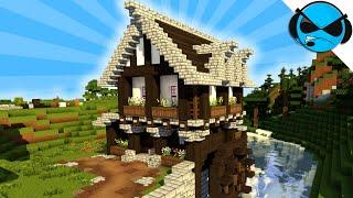 Hoe Het Bouwen Van Een Middeleeuwse Watermolen Minecraft Tutorial ► Minecraft Middeleeuwse Dorp Deel 12