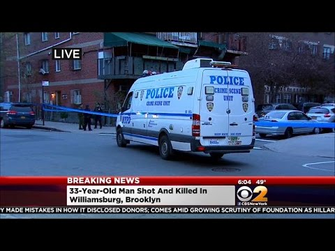 33-Year-Old Man Shot And Killed In Williamsburg, Brooklyn