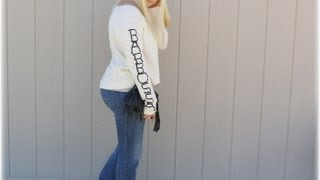 DIY Fashion   Fast & Easy Sweater Project Thumbnail