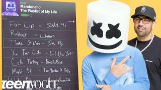 Marshmello Creates the Playlist to His Life | Teen Vogue