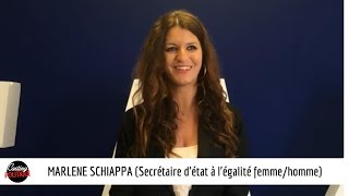 CASTING POLITIQUE : MARLENE SCHIAPPA (secrétaire d'état à l'égalite femmes/hommes)