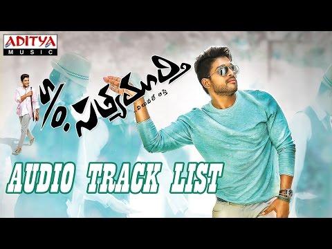 S/o Satyamurthi Songs List - Allu Arjun, Samantha