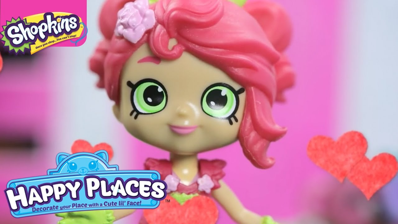Shopkins Happy Places The Lil Shoppies Of Happyville Red Is