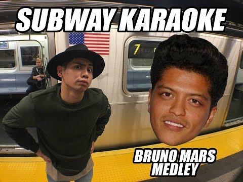 Subway Karaoke: Bruno Mars Medley