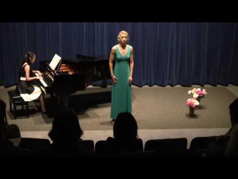 Mikaela Jaquette's junior recital 2016