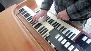 DUAL FOLDBACK HAMMOND ORGAN DEMO