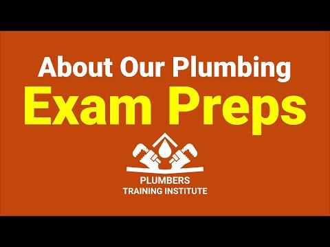 Online Plumbing Exam Prep for Journeyman & Master Plumbers