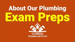 Online Plumbing Exam Prep for Journeyman & Master Plumbers