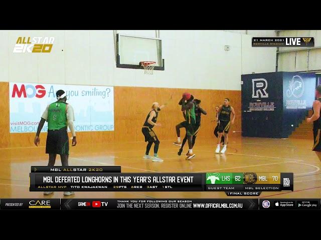 Abraham Tong of Longhorns Basketball Club Melbourne