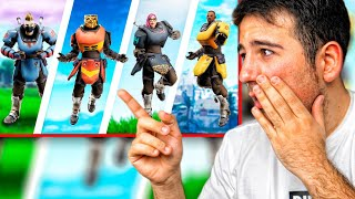 LOS SUPERHEROES DE FORTNITE !! REACCIONANDO A PELICULAS DE FORTNITE - ElChurches