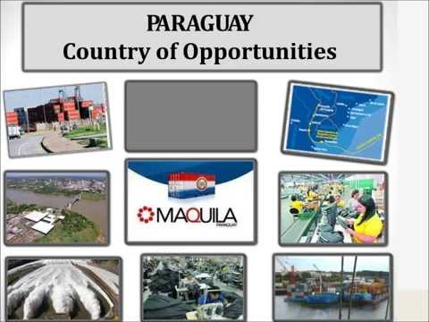 Presentation of The Maquila Law -  PARAGUAY