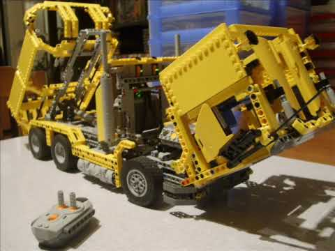 technic lego kiepwagen youtube. Black Bedroom Furniture Sets. Home Design Ideas