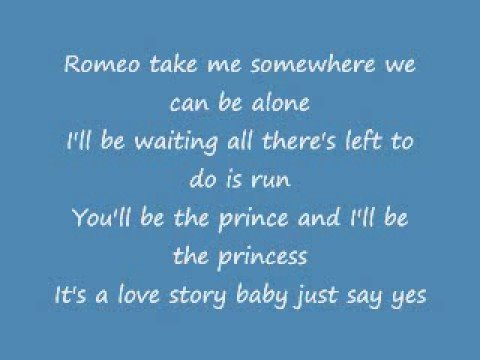 Love Story (full lyrics)