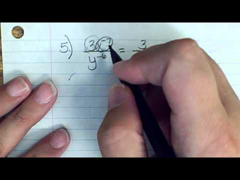 Expanded Form Negative And Zero Exponents Youtube