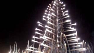 burj dubai opening fireworks