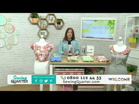 Sewing Quarter - Summer Ready (Vintage Tea Dress with Jenniffer Taylor) 18th May 2017