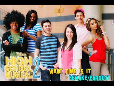 High School Musical 2 - What Time Is It? - Remake/Parody