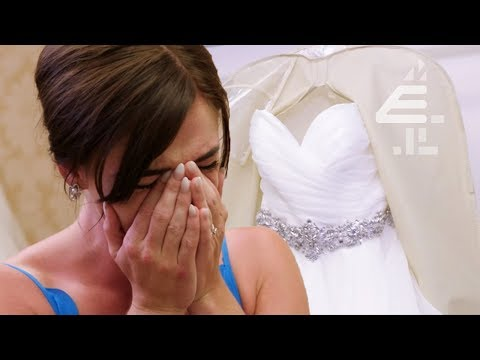 Bride In Tears IMMEDIATELY When She Sees Dress | Don't Tell The Bride