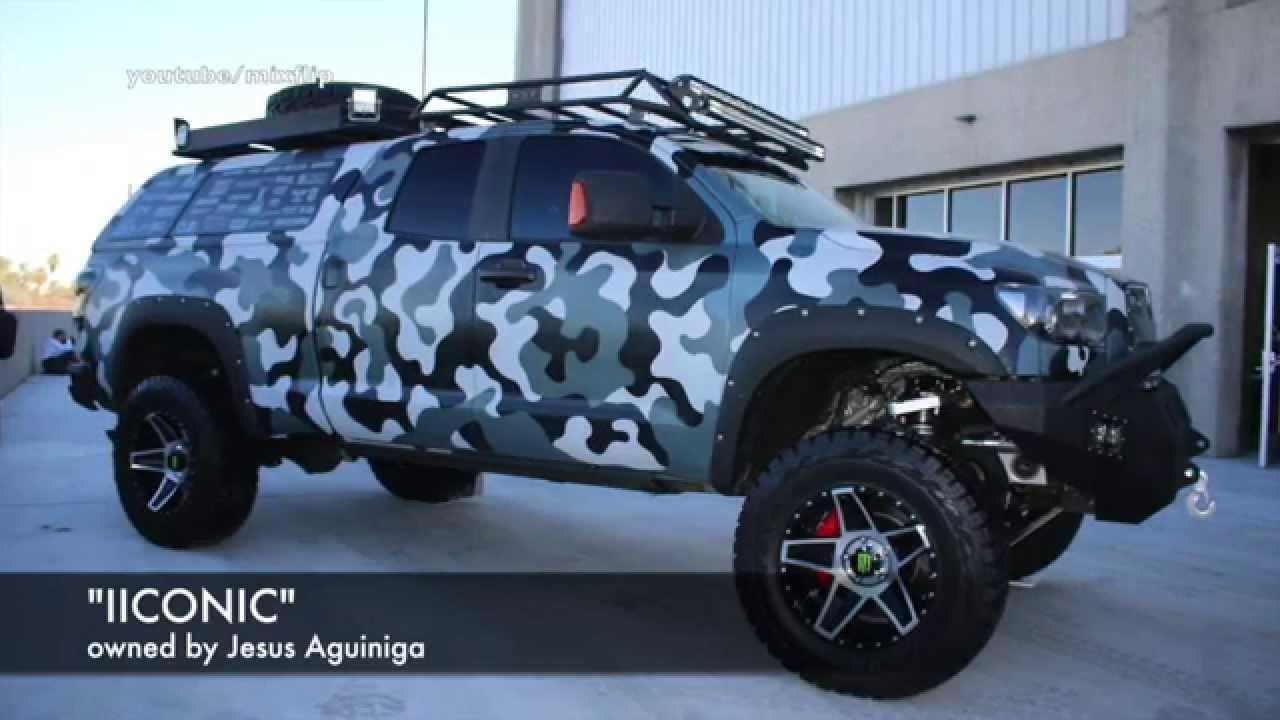 Toyota Tundra Quot Iiconic Quot Sema Las Vegas Youtube