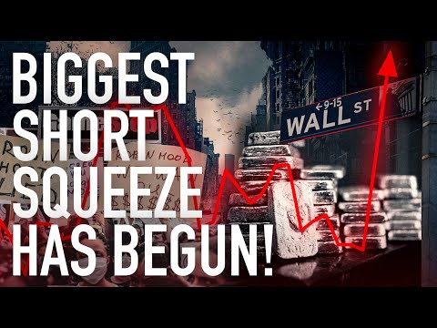 It's Official: The World's Biggest Silver Short Squeeze Has Begun!