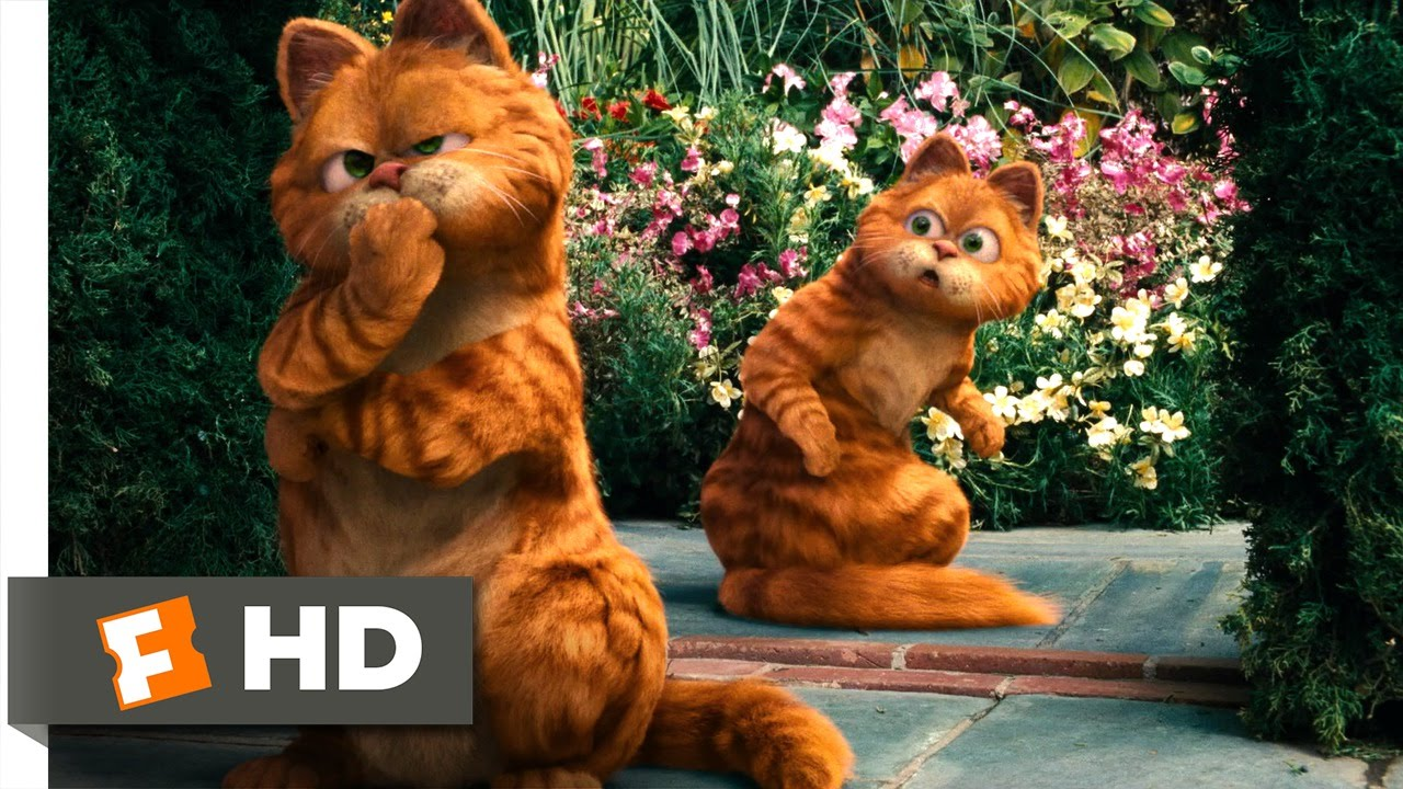Garfield A Tail Of Two Kitties 4 5 Movie Clip Royal Copycat 2006 Hd Youtube