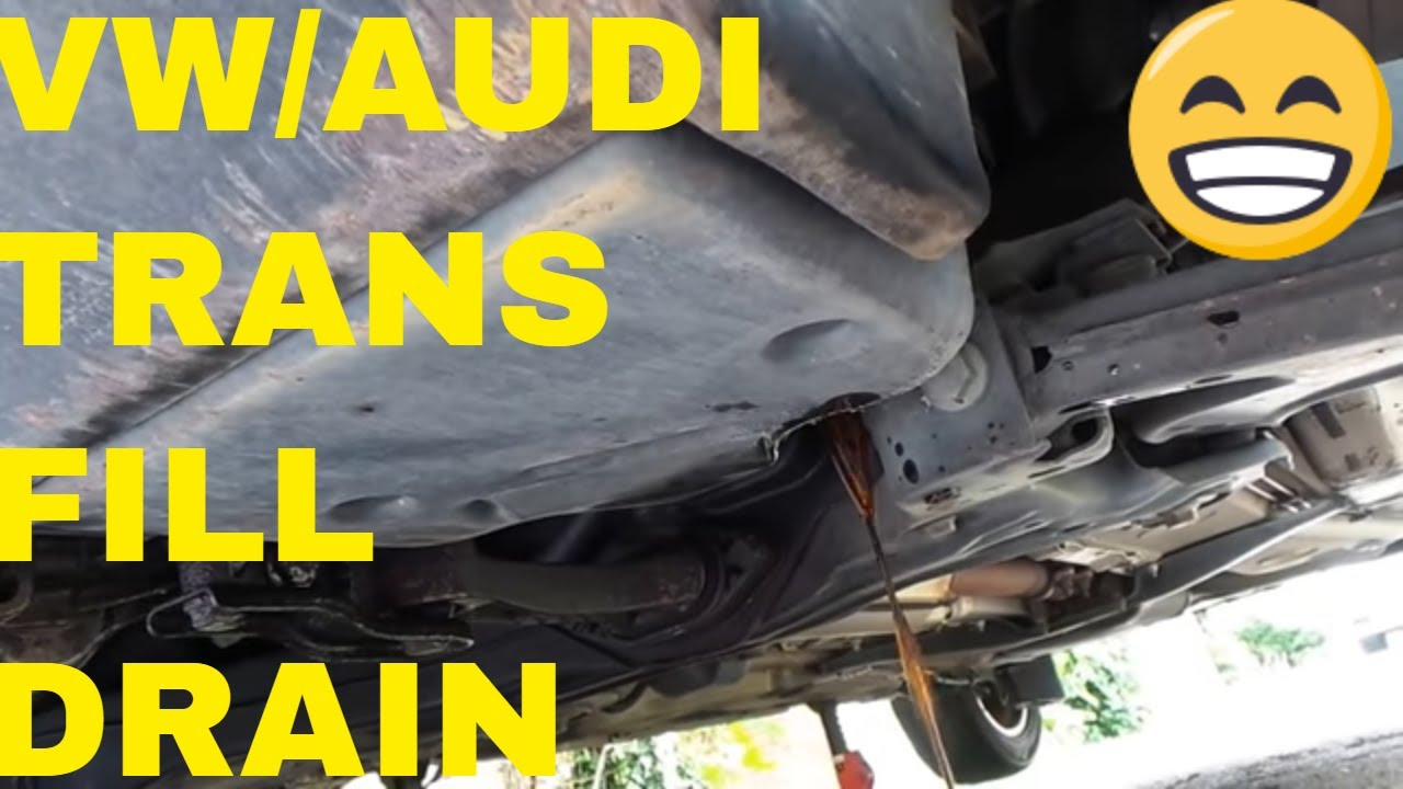 How To Check Vw Transmission Fluid Youtube