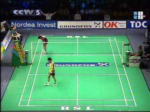 badminton- 2004 MenSingle Final - Lin Dan VS Xia Xuanze 林丹 夏煊泽