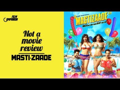 Not A Movie Review | Mastizaade | Sucharita Tyagi